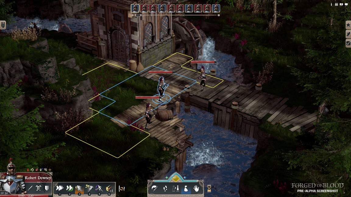 Mix tahové strategie a RPG Forge of Blood má původ v Indonésii