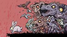 V brutální plošinovce Snowflake's Chance utíká roztomilý králík z pekelné Jámy
