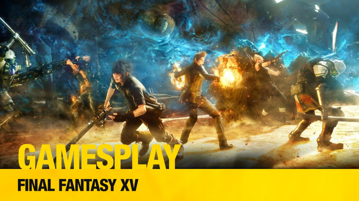 GamesPlay: hrajeme sandboxové JRPG Final Fantasy XV