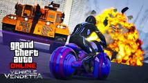 Mód Vehicle Vendetta pro GTA Online představuje šílené války ve vozech