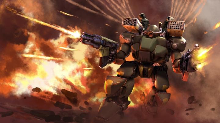 Multiplayerová akce s mechy Heavy Gear Assault vstupuje na Steamu do early accessu