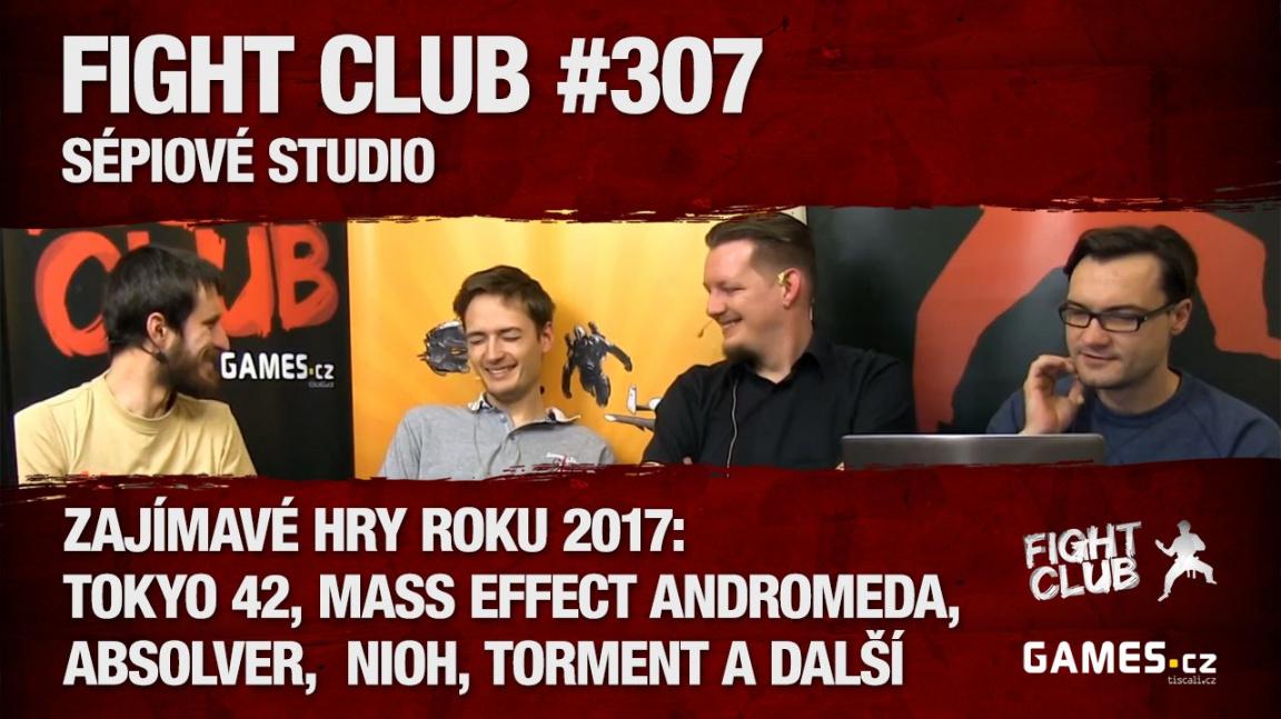 Fight Club #307: Sépiové studio