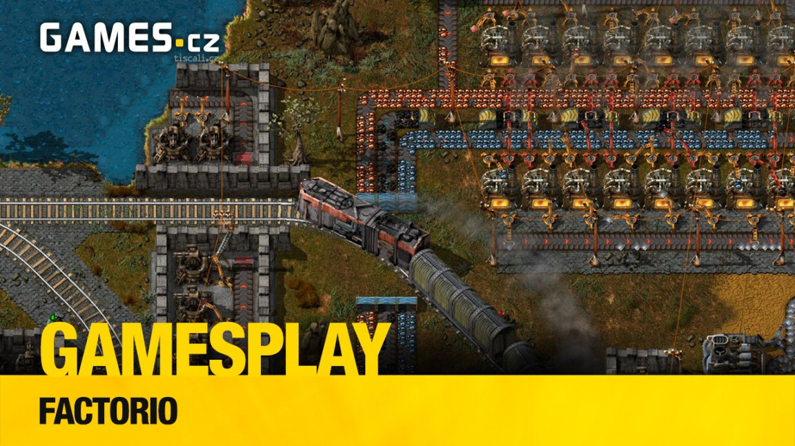 GamesPlay: hrajeme českou real-time strategii Factorio