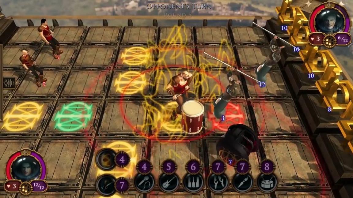 The Astonishing Game se inspirovala albem metalové skupiny Dream Theater