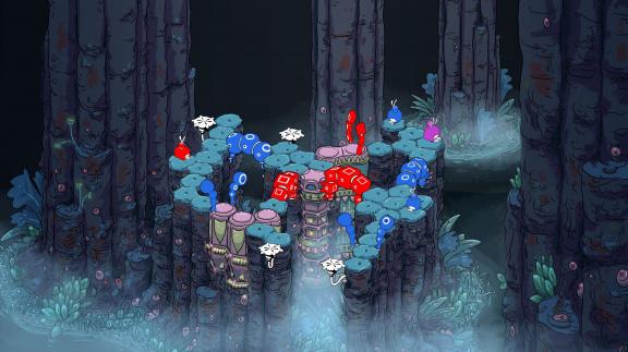 Vyzkoušejte demo logické hry o housenkách She Remembered Caterpillars