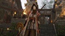Čtvrtým samurajským hrdinou z For Honor je Nobuši s naginatou