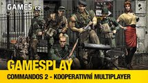 GamesPlay: hrajeme Commandos 2 v kooperaci
