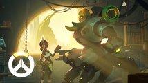 Čtyřiadvacátým hrdinou ve střílečce Overwatch je robotický tank Orisa