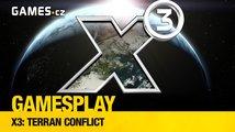 Čtenářský GamesPlay: Hrajeme vesmírnou simulaci X3: Terran Conflict