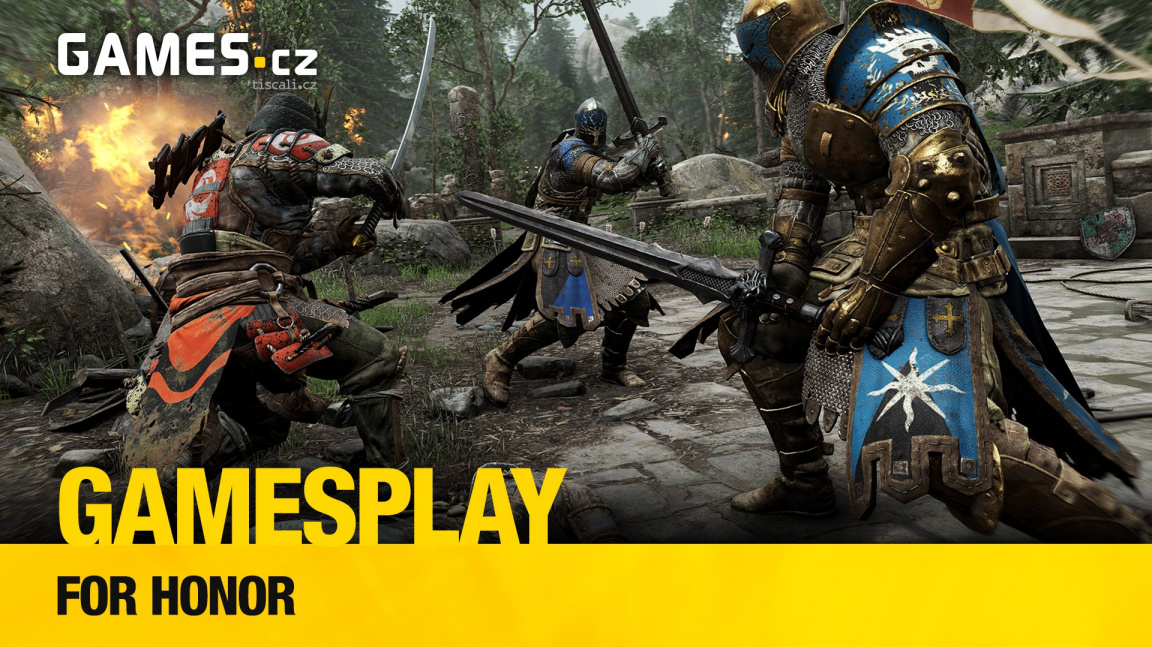 GamesPlay – hrajeme středověkou bojovku For Honor