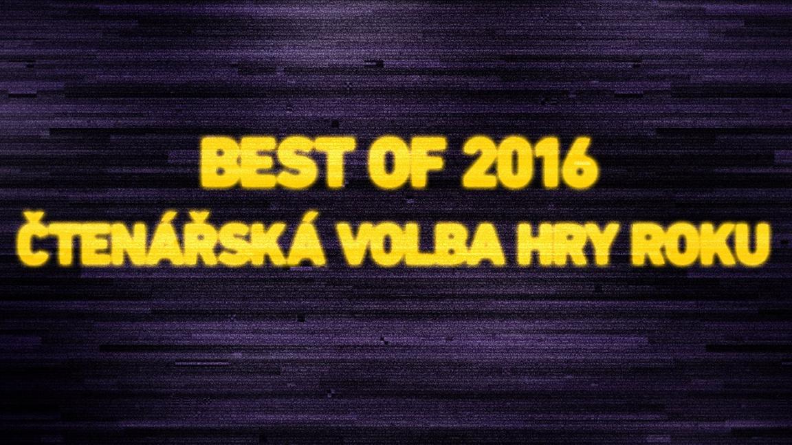 Best of 2016: Výsledky čtenářského hlasování o hry roku