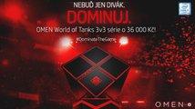 Zúčastni se OMEN World of Tanks turnaje a vyhraj 36 000 Kč