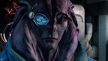 Angařan Jaal z Mass Effect: Andromeda představuje typického zástupce své rasy