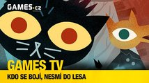 Games TV #3: Kdo se bojí, nesmí do lesa (Night in the Woods, 911 Operator, NieR:Automata)