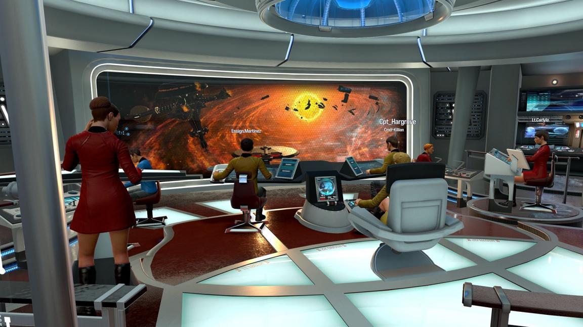 Star Trek: Bridge Crew můžete nově hrát i bez virtuální reality