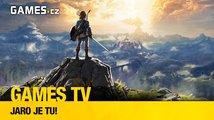 Herní pořad Games TV oslavuje jaro s novou Zeldou