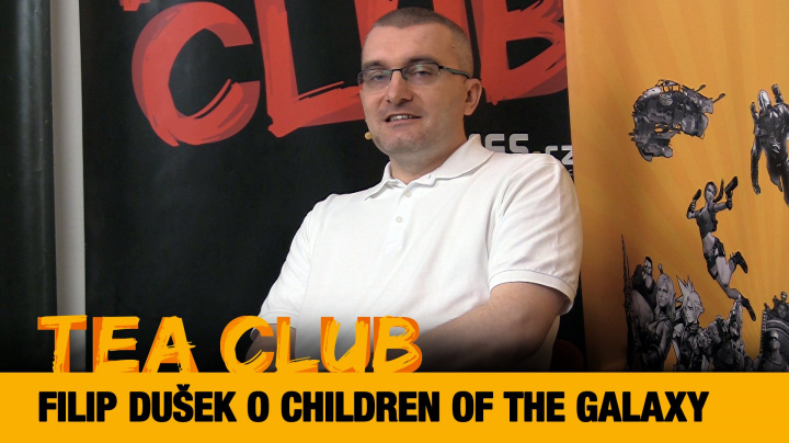 Tea Club #27: Filip Dušek o 4X strategii Children of the Galaxy
