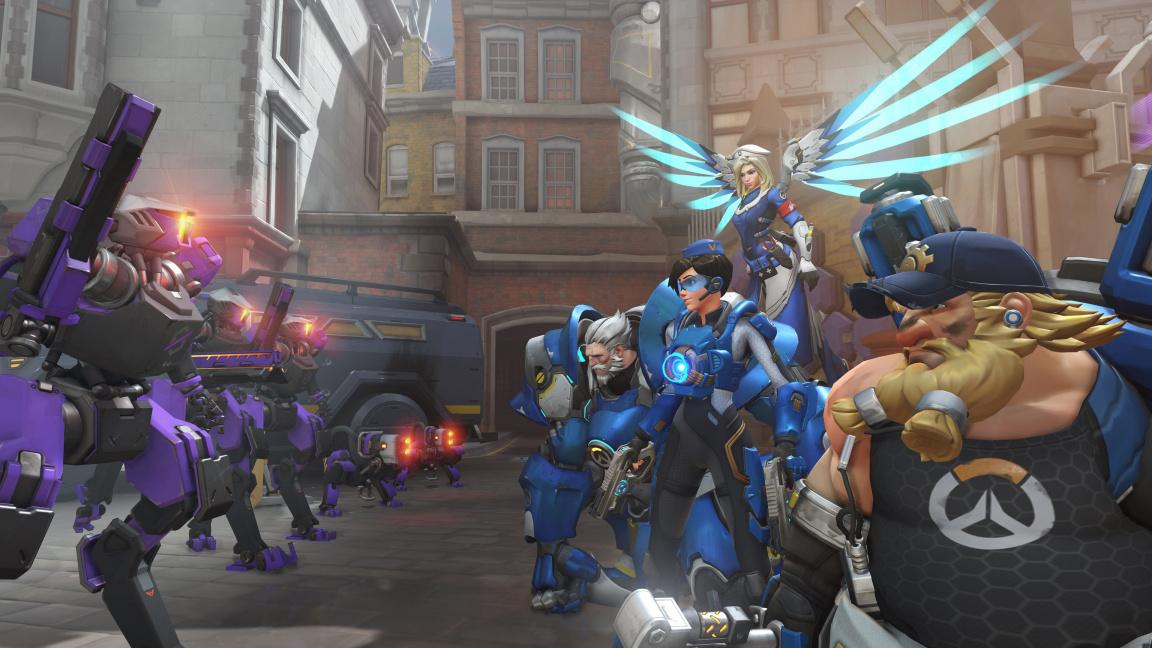 Čtveřice hráčů Overwatch se v Uprising eventu postaví hordě Omniců