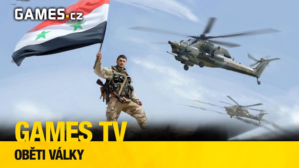 Nový díl herního pořadu Games TV mapuje hry nejen o syrské válce