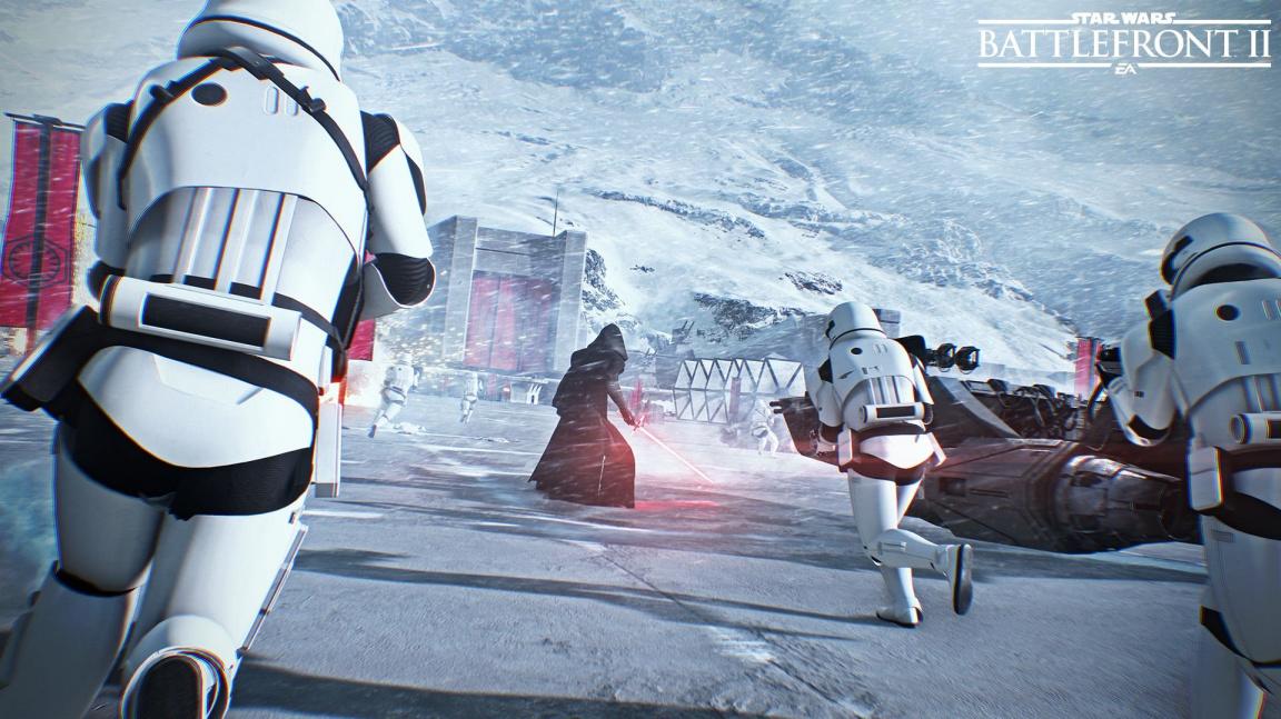 Už zítra si můžete vyzkoušet Star Wars: Battlefront II, půjde o největší betu v historii EA