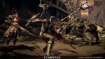 Code Vein na záběrech ze hry připomíná Dark Souls říznuté anime