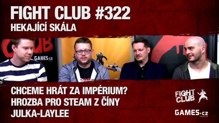 Fight Club #322: Hekající skála