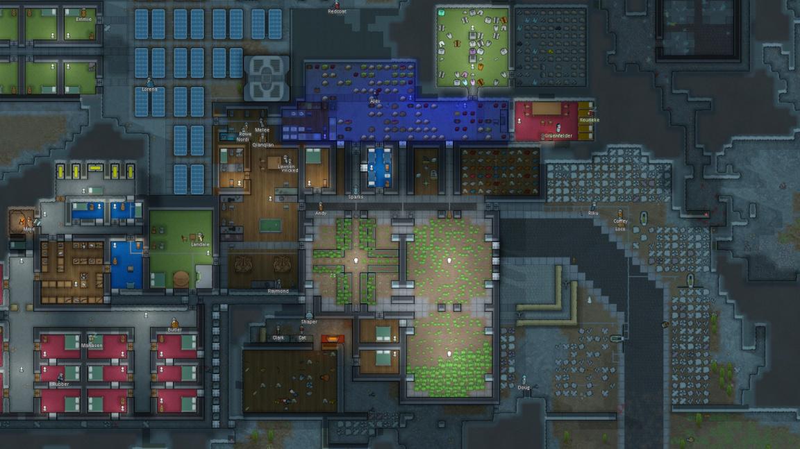 Výborný mimozemský survival RimWorld vás brzo nechá umírat v plné verzi