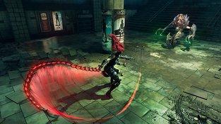 Fury z Darksiders III si náramně užívá procházku peklem