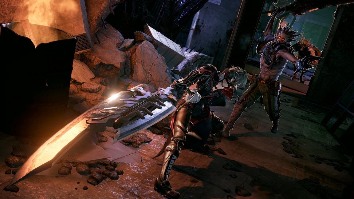 Upíři řádí v novém traileru na Code Vein, postapo RPG podobné Dark Souls