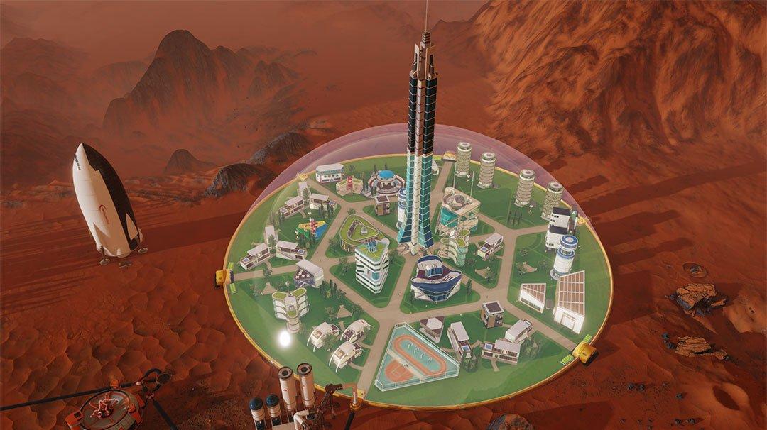 Tvůrci Tropica představili budovatelskou strategii Surviving Mars