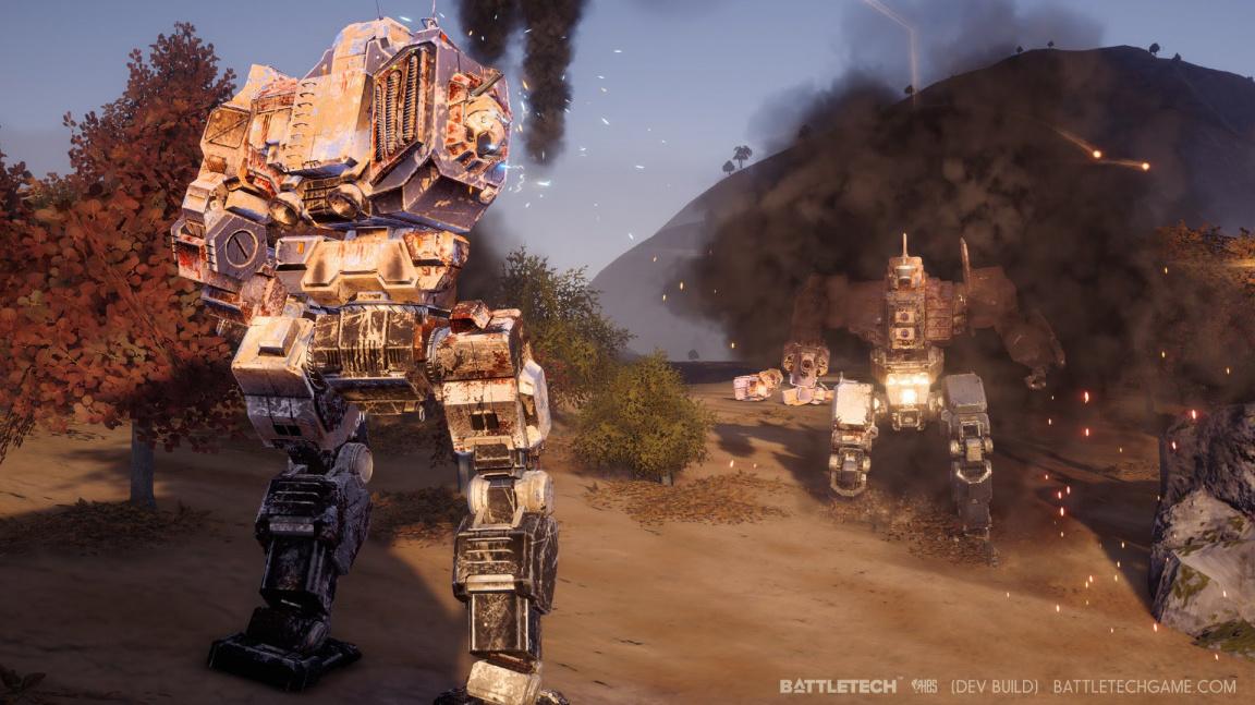 Tahovku s mechy BattleTech od tvůrců Shadowrunu vydá Paradox