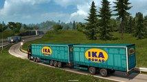Řidiče kamionů v Euro Truck Simulator 2 čekají těžší náklady a víc přívěsů