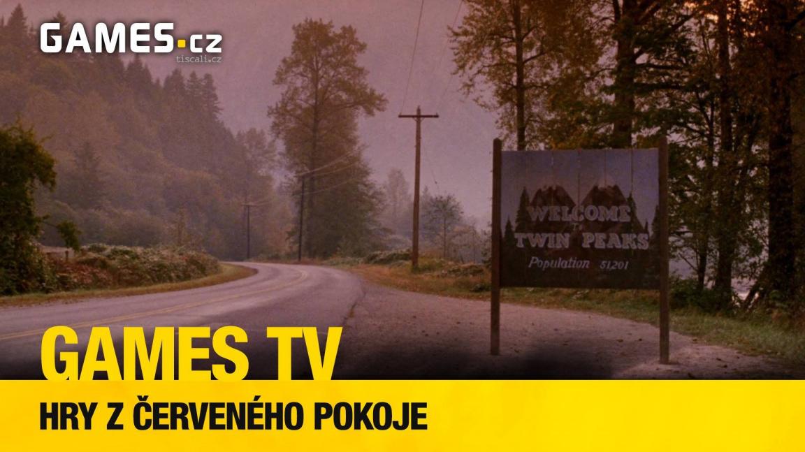 Nový díl herního pořadu Games TV navštíví městečko Twin Peaks a jím inspirované hry