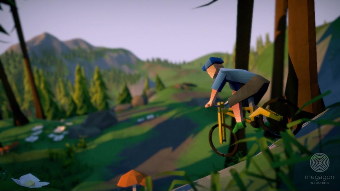 V adreanlinové cyklistice Lonely Mountains: Downhill jste jednou na hoře, v mžiku dole, živí či mrtví