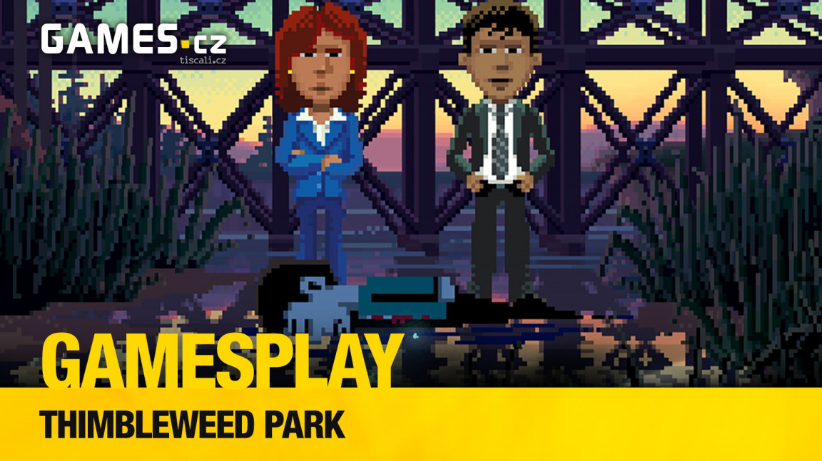 GamesPlay – hrajeme výbornou adventuru Thimbleweed Park