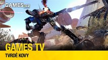 Games TV #10: Tvrdé kovy (The Surge, E.Y.E.: Divine Cybermancy, Rain World)