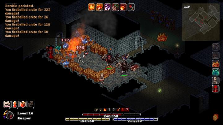V roguelike RPG MidBoss si projdete potravinovým řetězcem