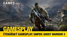 Čtenářský GamesPlay – Sniper: Ghost Warrior 3