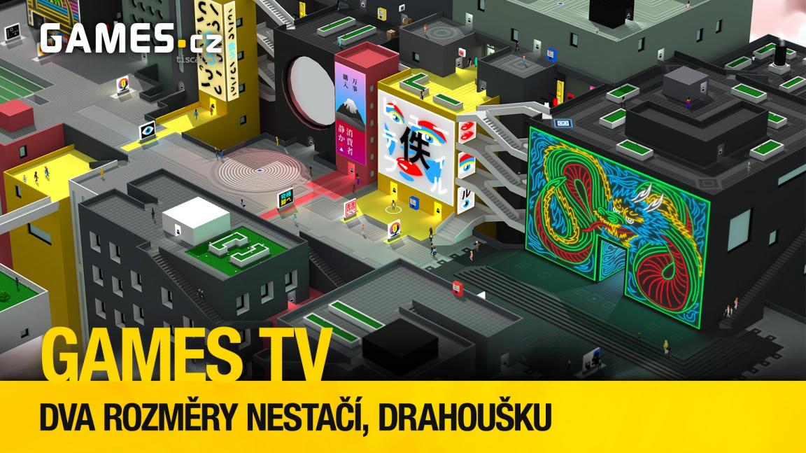 Herní pořad Games TV objevuje netušené rozměry futuristického Tokia i abstraktního vesmíru