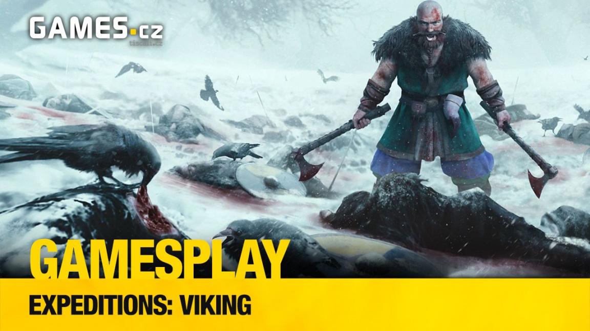GamesPlay – hrajeme parádní RPG strategii Expeditions: Viking