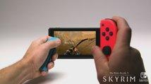 Skyrim vyjde na Switch se všemi DLC, nabídne pohybové ovládání zbraní a hru za Linka