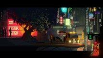 The Last Night je 2.5D plošinovka s úchvatnou kyberpunkovou stylizací