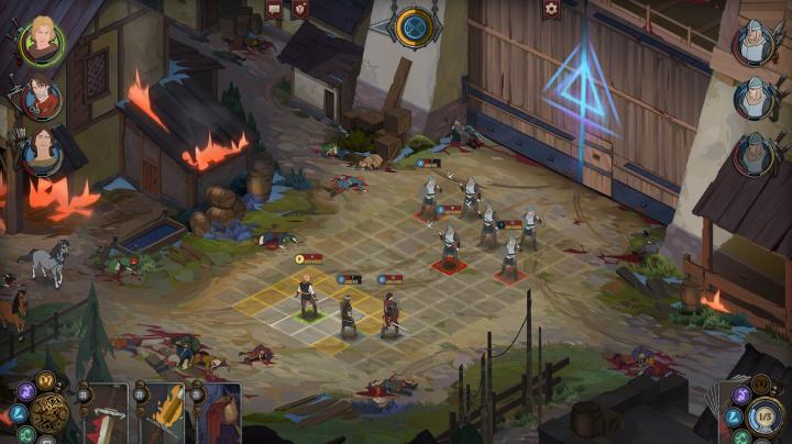 Souboje v příběhovém RPG Ash of Gods se neobejdou bez taktiky a obětí