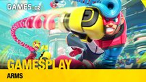GamesPlay – hrajeme zábavnou bojovku Arms pro Switch