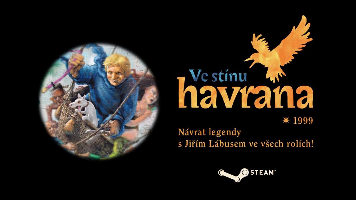 Česká adventura Ve stínu havrana konečně vychází na Steamu