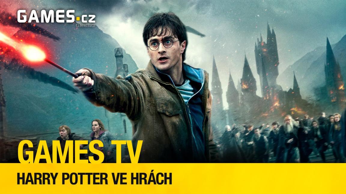 Herní pořad Games TV hledá nejlepší hru podle Harry Pottera