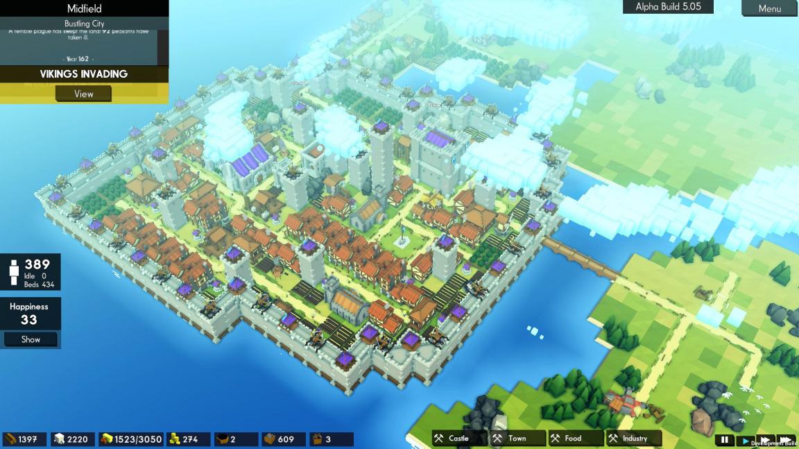 Kingdoms and Castles vám v úterý položí jednoduchou otázku: hradby, nebo smrt?
