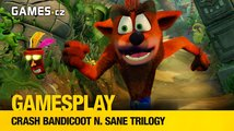 GamesPlay – Crash Bandicoot N. Sane Trilogy