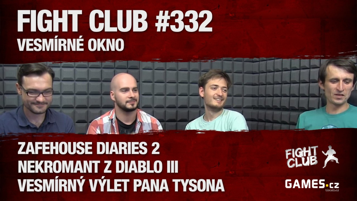 Fight Club #332: Vesmírné okno