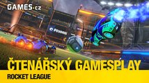 Čtenářský GamesPlay – Rocket League
